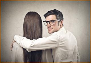 flirten mit einem mann